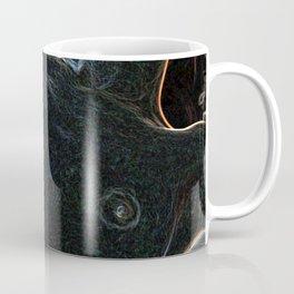 Neon nude woman Coffee Mug