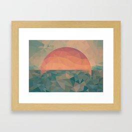 Tycho Sunrise Framed Art Print