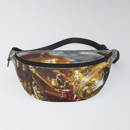 Old Motorcycle Fanny Pack