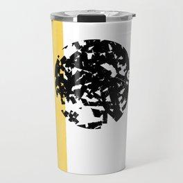 Abstract Moon #society6 #abstractart Travel Mug
