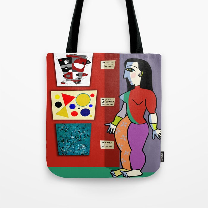 The Barefoot Docent Tote Bag