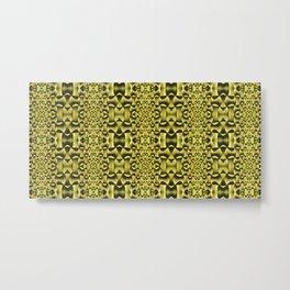 Yellow Haze Metal Print
