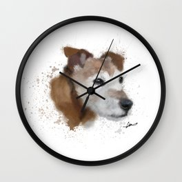 Jack Russell Terrier Dog Wall Clock