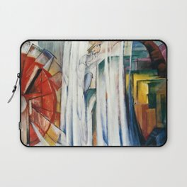 Franz Marc - The Bewitched Mill Laptop Sleeve