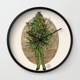 Mama Nugs Wall Clock