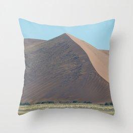 Namibian Sand Dunes Throw Pillow