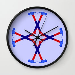 Hammers Design version 2 Wall Clock