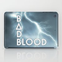 bastille iPad Cases featuring Bastille - Bad Blood #2 by Thafrayer