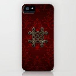 Decorative celtic knot iPhone Case