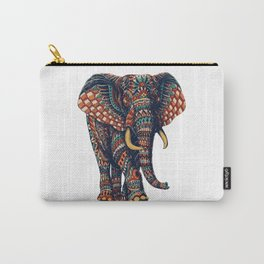 Ornate Elephant v2 (Color Version) Carry-All Pouch