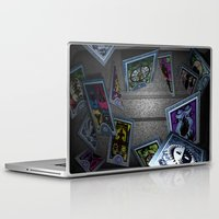 persona Laptop & iPad Skins featuring Persona Tarot Cards by KeenaKorn