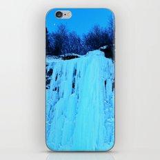 Moonlit Ice Wall iPhone & iPod Skin