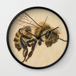 Bee VII (Artemesia) Wall Clock
