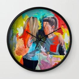 Sam and Mon Wall Clock