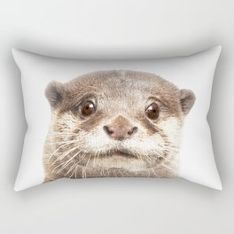Cute Otter Rectangular Pillow