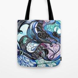 Restless Dawn Tote Bag