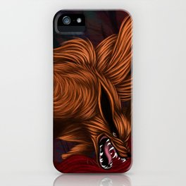 .:Kurama:. The Nine Tailed Fox iPhone Case