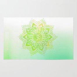 Aum lotus Rug