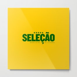 Brasil (World Cup 2018) Metal Print