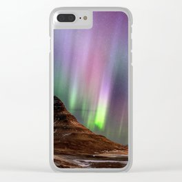 Iceland- Northern Lights Clear iPhone Case