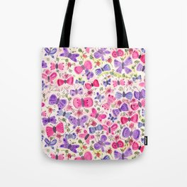 Happy Butterflies Tote Bag