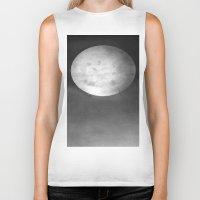 dark side of the moon Biker Tanks featuring DARK SIDE OF THE MOON by ..........