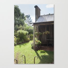 The Old Cottage Garden Canvas Print