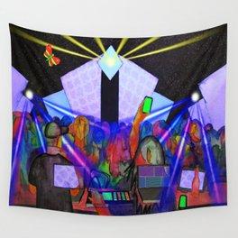 Smoke & Mirrors 3 @ Strange Brew.  27 May, 2018 Wall Tapestry