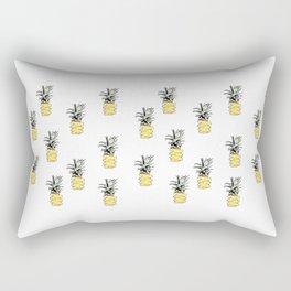 Sweet Cartoon Pineapple - designs by IO ♡ Rectangular Pillow