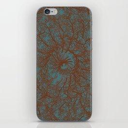 Coral Swirl iPhone Skin