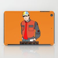 marty mcfly iPad Cases featuring Marty McFly by Pendientera