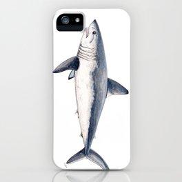Porbeagle shark (Lamna nasus) iPhone Case
