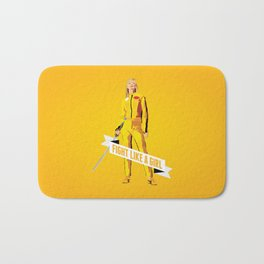 Fight Like a Girl: Beatrix Kiddo Bath Mat