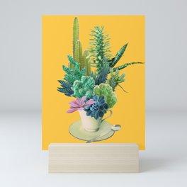 Arid garden Mini Art Print
