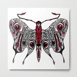Bored Eye Moth of Utterly Dismal Conversationalists Metal Print