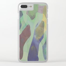 Camouflage XXI Clear iPhone Case