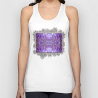 randy c Tank Tops featuring Mingus Randy Abstract by JMcCombie