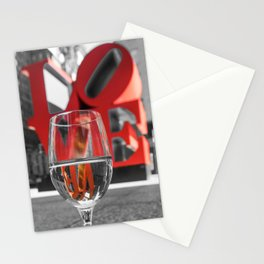 NYC Love of Wine Stationery Cards