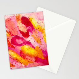 Feather Sunset Stationery Cards