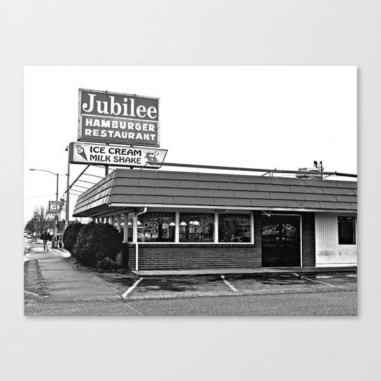 Jubilee Hamburger Restaurant Canvas Print