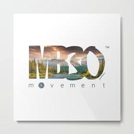 MB30 Movement Lake Lifestyle Metal Print