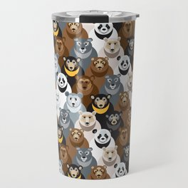 Bears Bears Bears Travel Mug