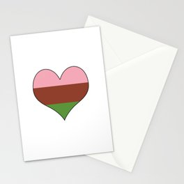Gynesexual Heart Stationery Cards