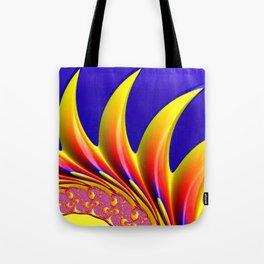 Crown Fractal Tote Bag