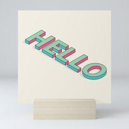 Hello Mini Art Print
