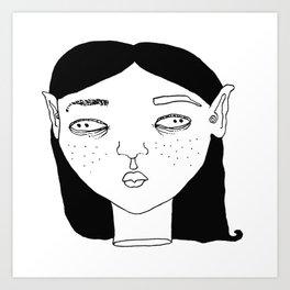 Elf #2 Art Print