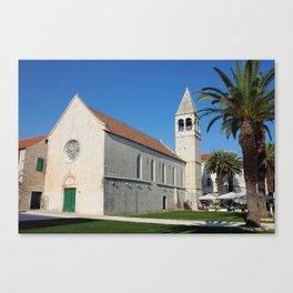 St Dominic Monastery In Trogir Canvas Print