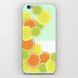Citrus Fruits iPhone Skin