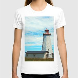 Red Light of North Cape Lighthouse T-shirt