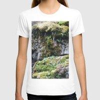 moss T-shirts featuring Moss by Infra_milk